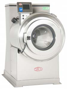 Milnor - V8Z 60lb rigid mount high extractor washer