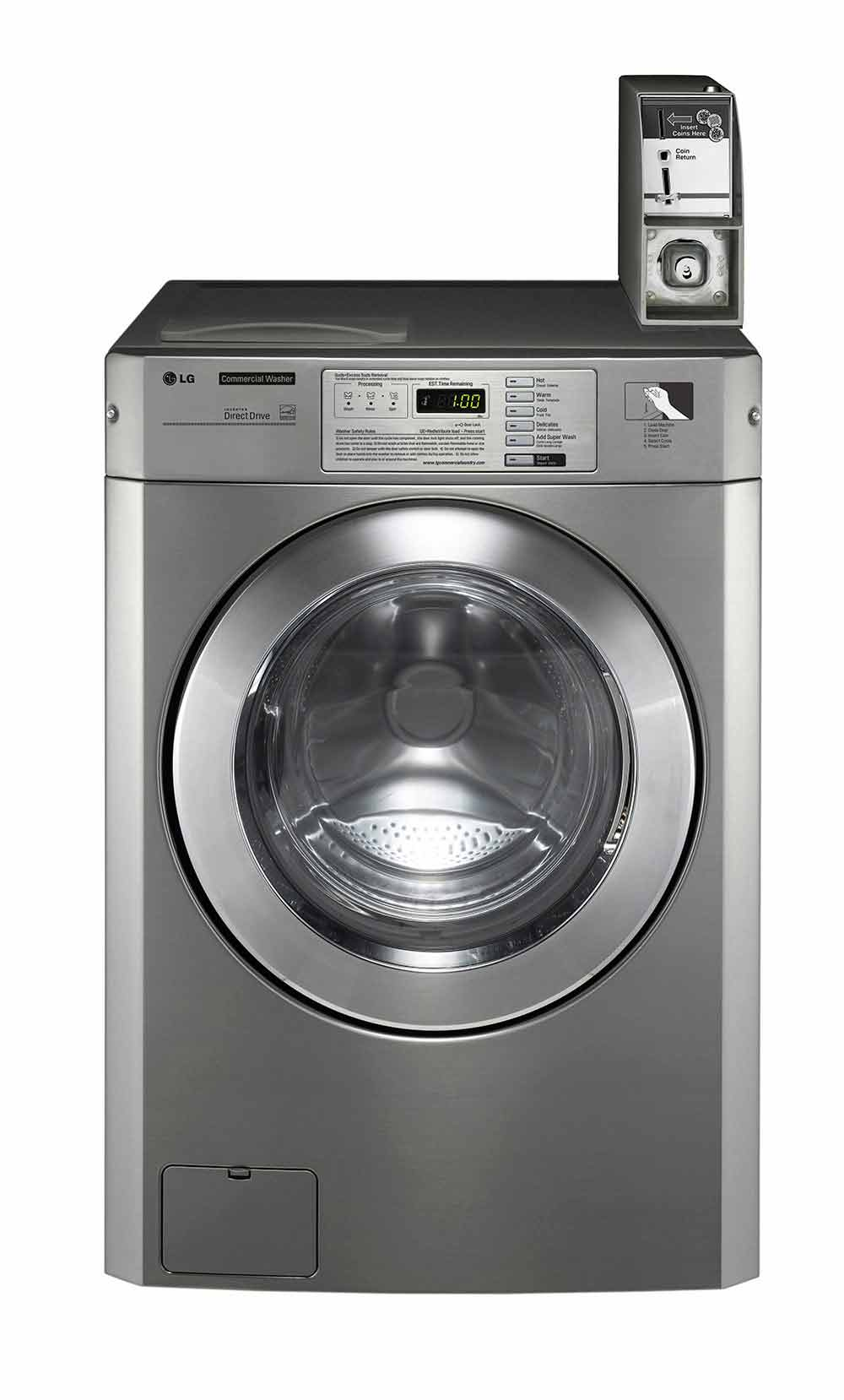 LG Giant-C 22.5 lb Coin Single Washer
